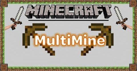 Multi Mine - Разрушение блока с другом мод для Minecraft 1.8/1.7.10/1.7.2/1.6.4/1.5.2