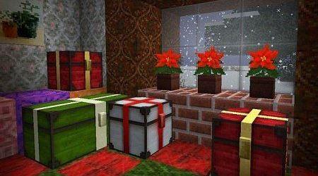 Рождественский текстур пак