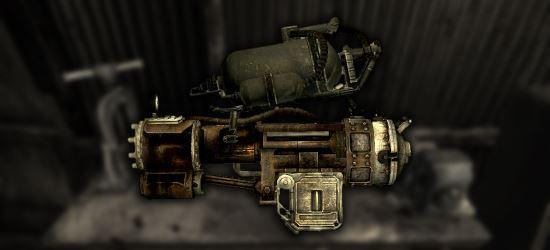 Railway Minigun для Fallout 3