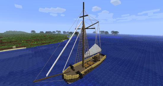 Скачать мод для minecraft 1.6.4 на корабли