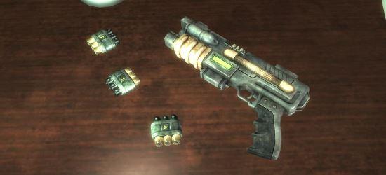 Плазменный защитник как замена плазменному пистолету для Fallout 3