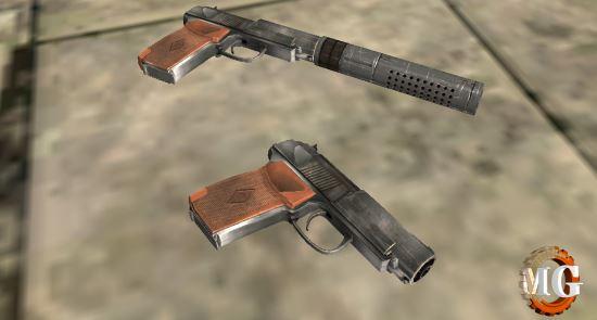 Пистолет 6П9 v 1.1 для Fallout: New Vegas