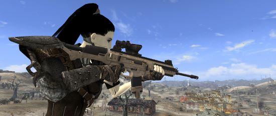 Беретта ARX-160 v 2.0b для Fallout: New Vegas