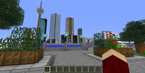 Minecraft City - Карта для Майнкрафт 1.8.3/1.8.2/1.8.1/1.7.10/1.7.2/1.6.4