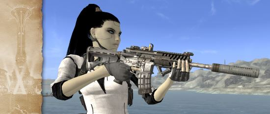 Штурмовая винтовка P416 v 1.1 для Fallout: New Vegas