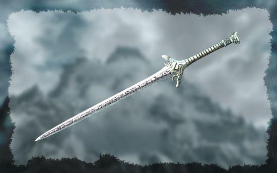 Двуручный меч доблести v 5.6 для TES V: Skyrim