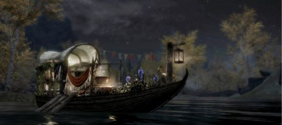 The Lone Gypsy / Одинокая лодка для TES V: Skyrim