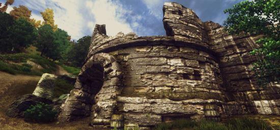 Forts Ruins retexture для TES IV: Oblivion