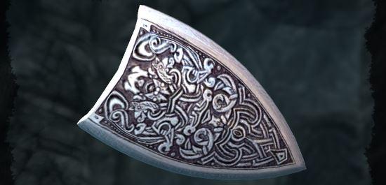 Серебряный щит доблести v 5.7 для TES V: Skyrim