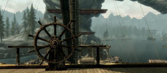 Отображение корабля Катария для TES V: Skyrim