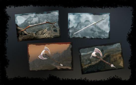 Набор оружия ордена доблести v 7.1 для TES V: Skyrim