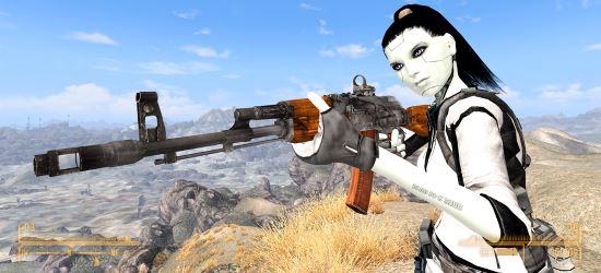 АK-74 v 1.1 для Fallout: New Vegas