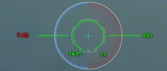 Зеленый прицел Страйк для World of Tanks 0.9.16
