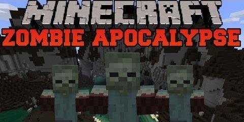 Мод The Zombie Apocalypse для Майнкрафт 1.8
