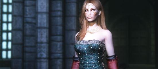 Triss' Dress / Платье Трисс v 2.0 для TES V: Skyrim