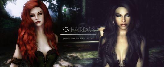 KS Hairdos - Renewal для TES V: Skyrim
