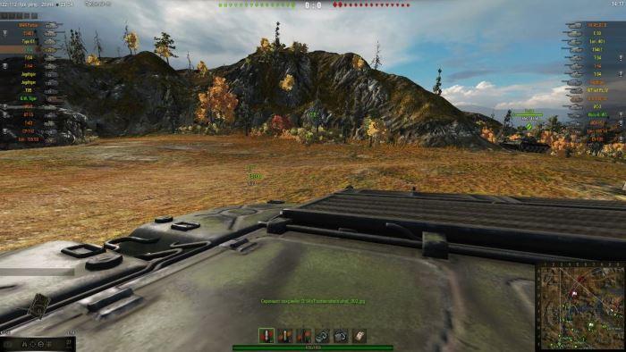 WOT-FPS - Вид от первого лица в World of Tanks 0.9.16