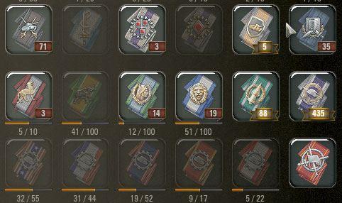 Мод медали с эффектом под стеклом (3 варианта) для World of Tanks 0.9.16