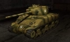 M4 Sherman шкурка №1 для игры World Of Tanks