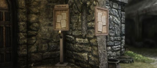 The Notice Bords \ Доски с заданиями для TES V: Skyrim