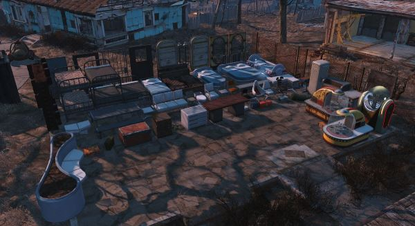 Settlement Supplies Expanded (SSEx) v 3.7a для Fallout 4