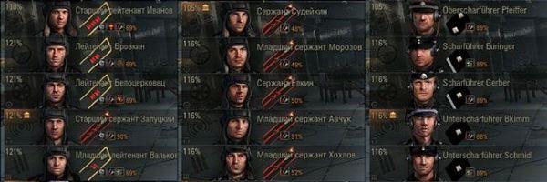 Исторические иконки экипажа для World of Tanks 0.9.16