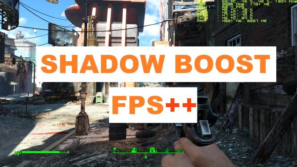 FPS dynamic shadows - Shadow Boost для Fallout 4