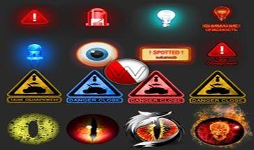 Стильные лампочки 6 чувства для World of Tanks 0.9.16