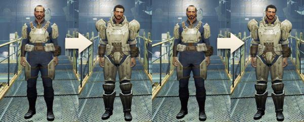 Craftable Armor Size / Крафт разных версий одной брони v 1.3.0 для Fallout 4