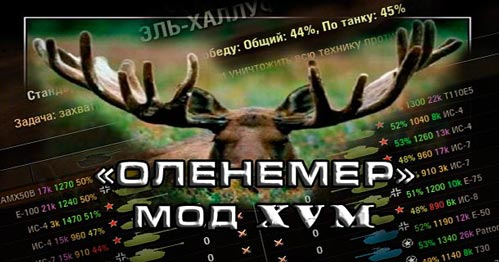 Оленемер / XVM для World of Tanks