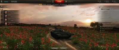 Ангар Маковое поле для World of Tanks 0.9.16
