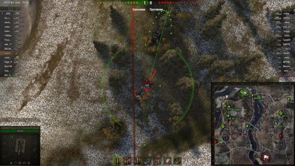 Battle Assistant - Мод САУ здорового человека для World of Tanks