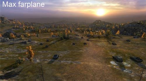 Увеличение дальности видимости на всех картах для World of Tanks 0.9.16