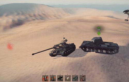 Мод тылы - Индикатор направления ближайшего противника для World of Tanks 0.9.16