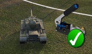 Отключить ручник для ПТ-САУ в снайперском режиме для World of Tanks 0.9.16