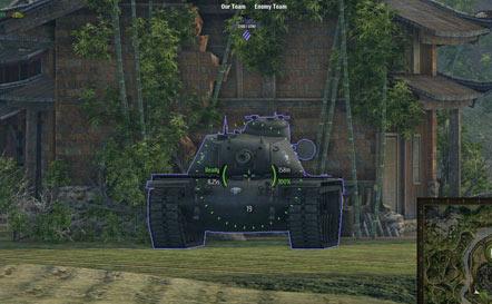 30 кратный снайперский зум мод для прицела для World of Tanks 0.9.16