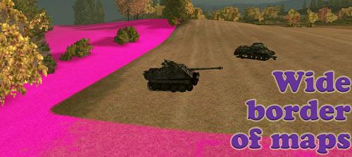 Яркие широкие границы карт для World of Tanks 0.9.16