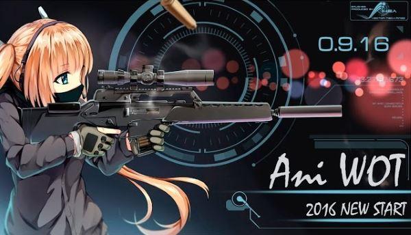 Самая большая аниме сборка модов Ani WoT для World of Tanks 0.9.16