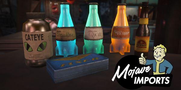 Mojave Imports / Привет из Мохаве для Fallout 4