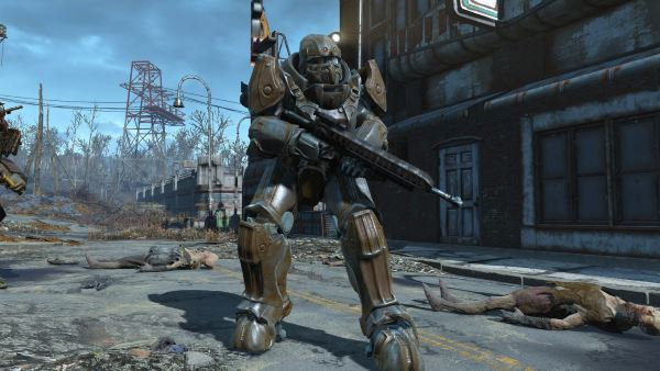 Tumbajambas Combat Power Armor / Силовая боевая броня для Fallout 4