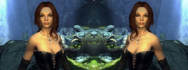 DEM Райя (Хускарл Фолкрита) для TES V: Skyrim