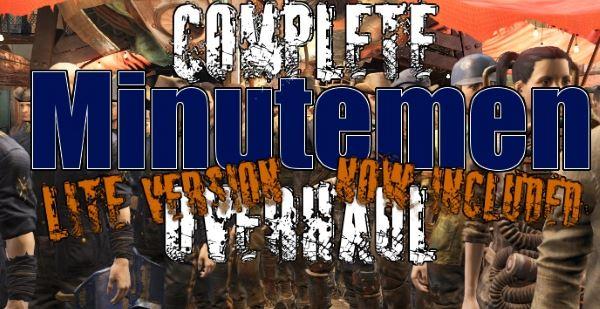 Minutemen Overhaul / Улучшение минитменов для Fallout 4