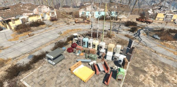 Homemaker - Expanded Settlements / Улучшение постройки поселений v 1.36 для Fallout 4