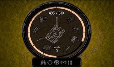 Новый мод панели повреждений от Rabbit для World of Tanks