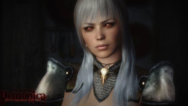 [DEM] Soul War / Набор брони для TES V: Skyrim