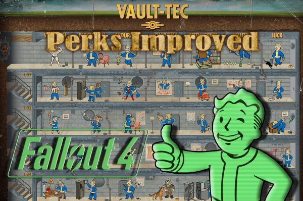 Perks Improved для Fallout 4