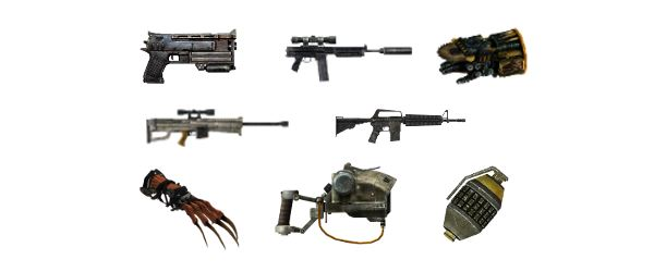 Цветные Иконки для Оружия для Fallout: New Vegas
