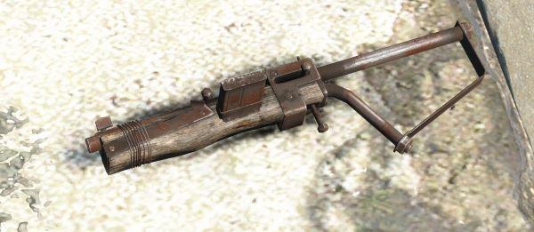 Ретекстур древесины гладкоствольного оружия для Fallout 4