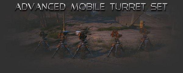 Advanced Mobile Turret Set / Мобильные турели для Fallout 4
