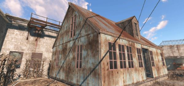 Snap'n Build - Roofs для Fallout 4